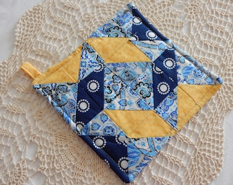 Hand Quilted Potholder
