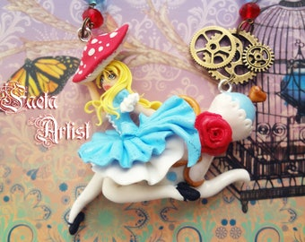 Alice Tea Time necklace