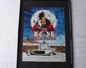 1996 Disney les 101 Dalmatiens original movie poster