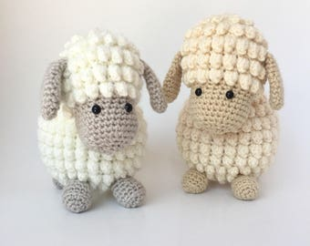 Crochet amigurumi pattern: Sheep