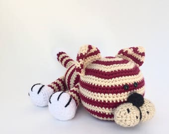Crochet amigurumi pattern: Cat