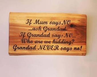Quote sign | Rustic handmade sign using wood burning (pyrography) technique
