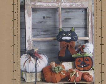 Pumpkin Jack pattern by wooden spool designs, Halloween pattern,