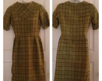 Anniversary Sale Vintage Green Dress
