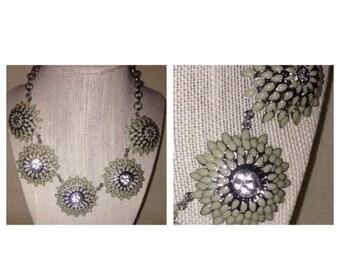 Anniversary Sale Cool Ann Taylor Flower Statement Necklace