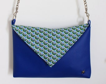 Royal Blue clutch bag
