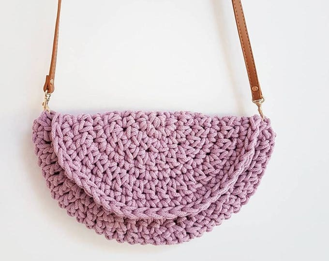 Make.E seamless moon bag crochet pattern UK pdf download