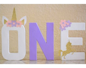 Unicorn Birthday Letters (price is per letter) | Unicorn Party, Horse Birthday, Majestic Party | Unicorn Theme birthday |