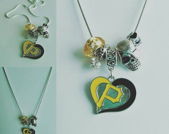 Pittsburgh Pirates Pandora-style Necklace