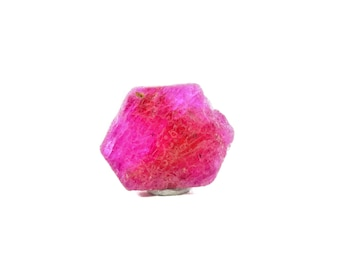 Raw Hexagonal Ruby from Montepuez, Mozambique 02