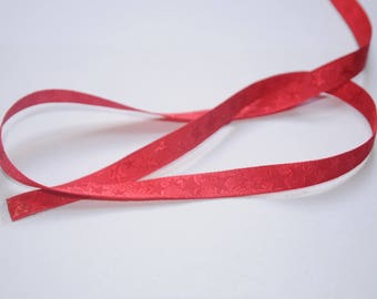 Christmas Ribbon red polyester