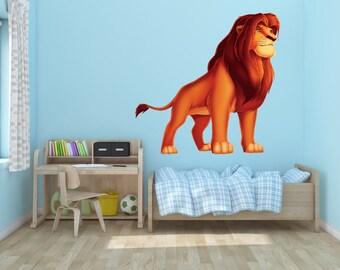 Lion King Simba Vinyl Wall Decal