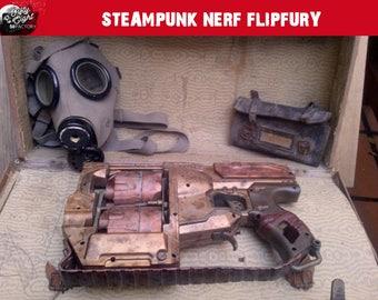 Steampunk nerf gun Flipfury