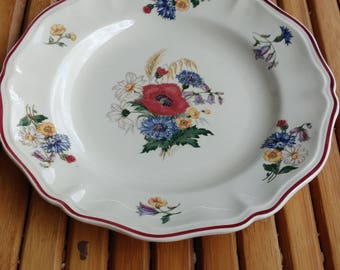 Plate SARREGUEMINES - collection Agreste -