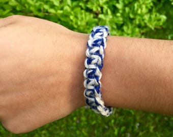 Threaded bracelet