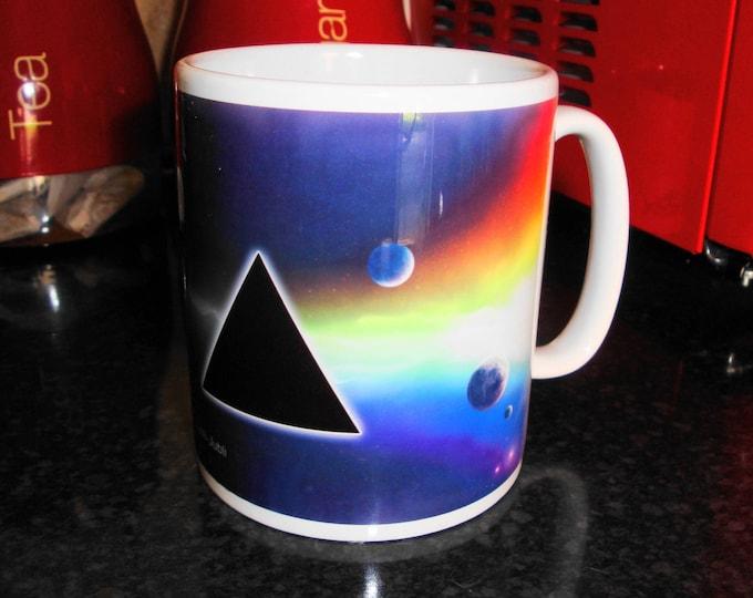 Pink Floyd White 10oz Ceramic Mug Music