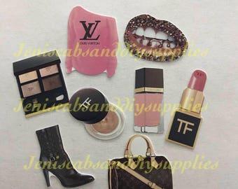8pc Pink brown designer kit
