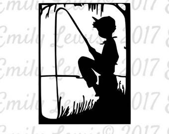 Fishing SVG - Fishing SVGs - fishing- fishing svg files - cut files - svg cuts - fishing clipart - cricut files - silhouette