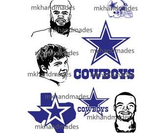 Dallas Cowboys svg, Cowboys clipart, Dallas svg silhouette, digital files – svg collection