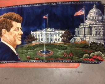 Colorful John F. Kennedy Tapestry
