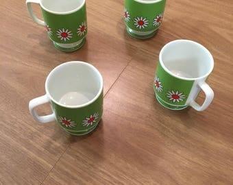 4 Starfire Japan teacups