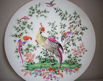 Vintage Royal Worcester Collectors Series Fabulous Birds Plate #1104 Number Two in Series, Collectable Wall Plate, Decorative, Limited Ed