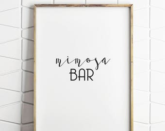 mimosa bar sign, mimosa bar decor, mimosa bar signs, mimosa bar prints, mimosa bar poster, mimosa bar wedding, mimosa bar decor, mimosa bar