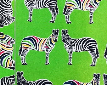Rainbow Zebras Picnic Blanket, Waterproof Picnic Blanket, Waterproof Picnic Rug