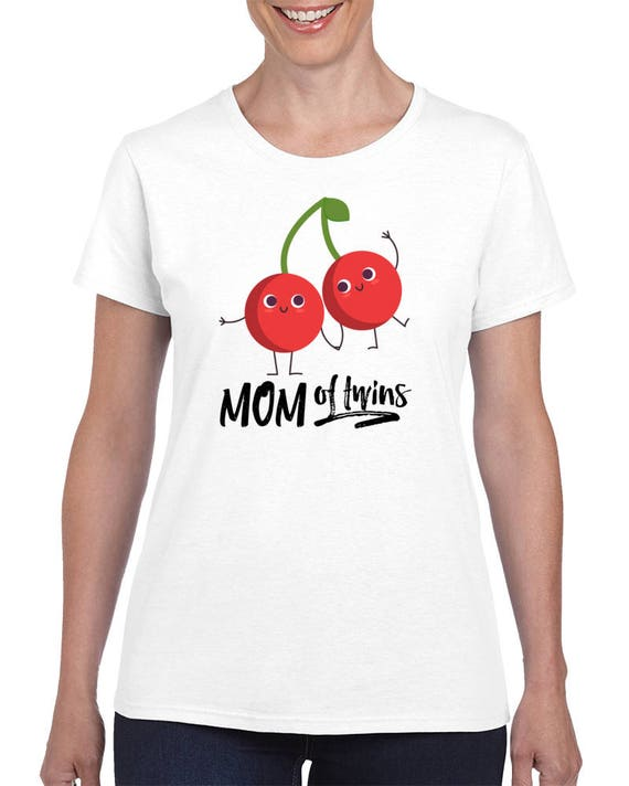 Gift For Moms, Mom Of Twins T-shirt, Mom Of Boys Shirts, Mom Of Girls Tee, Gift Idea For Her,Baby Shower Gifts,Preganancy Announcement shirt