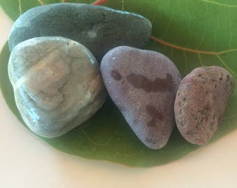 Zen Rocks, Sea Rocks, Fish Tank Decor, Stackable Rocks, Surf Tumbled, Vase Filler, Beach Decor, Garden Decor, Sea Stones, Stone Decor, Vase