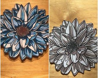 Soft Flower Magnet
