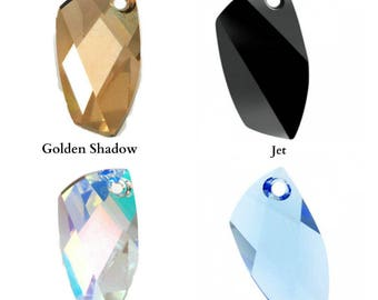 Swarovski Crystal 6620 Avant Garde Pendant 30mm All Colours