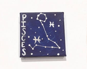 Pisces on Canvas