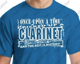 Once Upon a Time I Picked up a Clarinet Tee