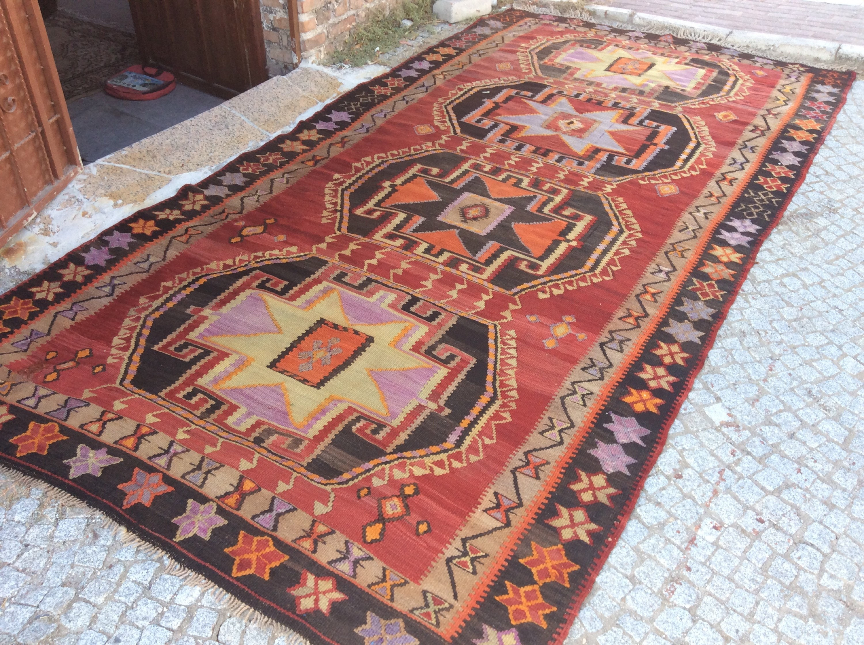 product turkish kilim cm rug x rugs vintage pirot