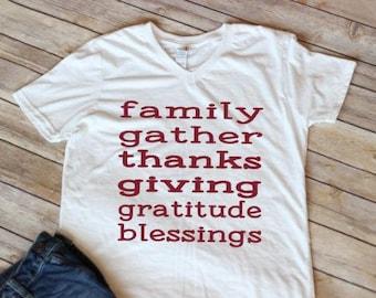 Thanksgiving Shirt. Women's Thanksgiving Shirt. Ladies Thanksgiving Tee. Fall Shirt for Women. Fall Shirt for Girls. Girls Fall Shirt.