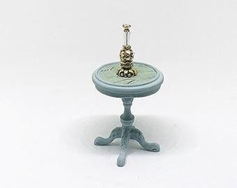 Miniature Perfume Bottle / Miniature Crystal Perfume Bottle / Dollhouse Perfume Bottle / Miniature Perfume Bottles / Miniature Vanity / OOAK