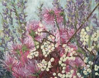 Flowers 1 - ORIGINAL Acrylic Painting