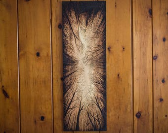 Long Forest Canopy Wall Decor