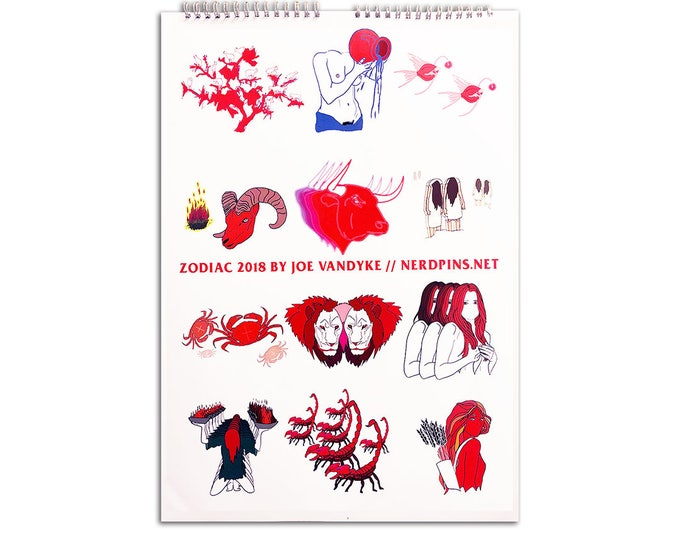 Zodiac Calendar (2018)