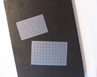 Bullet Journal Stencil - Dot Grid Stencil, Bullet Journal Stencil, Dot Grid Template Set