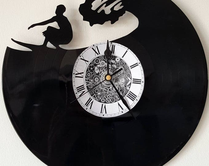 Vinyl 33 clock towers Surf theme