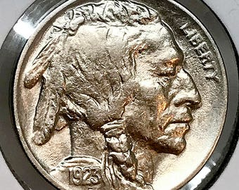 1923 P Buffalo Nickel - Gem BU / MS / UNC
