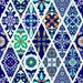 Geometric Tile Peel and Stick Wallpaper #160 / Vinyl Wallpaper / Pattern WallScape / Removable Wallpaper / Custom Wall Mural
