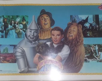 1989 Wizard of OZ 50th anniversary plce mats