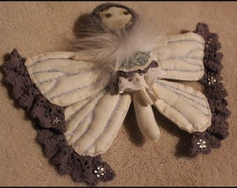 Small Butterfly-brooch or decorative hanging bauble.