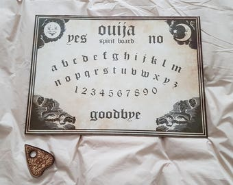 Brand New Hand Made Ouija - Spirit Board - Large Size With Planchette
