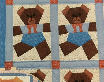 Vintage and Hard to find Three Bears (the pieceable kind) quilt pattern