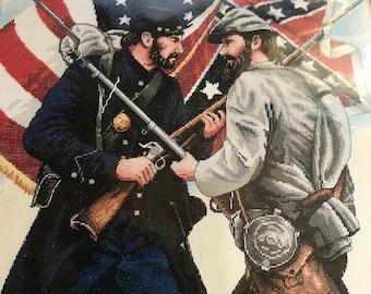 Sunset Counted Cross Stitch Gettysburg kit