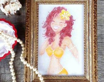 ORIGINAL Brasil Bella Painting